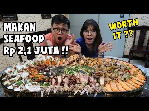 GILA!! HABIS Rp 2,1 JUTA MAKAN SEAFOOD !!
