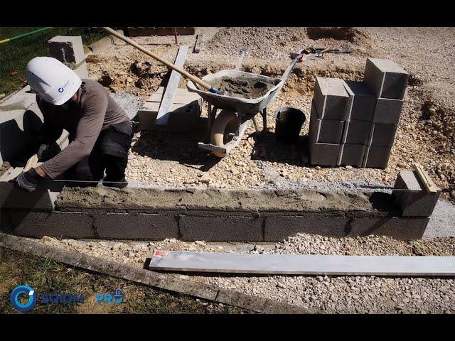comment monter un mur en parpaings