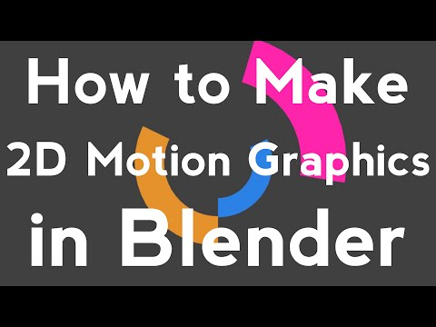 Blender Tutorial - Basic 2D Motion Graphics