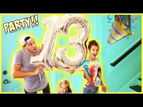 24 HOUR BIRTHDAY PARTY!! JAYLA TURNED 13!
