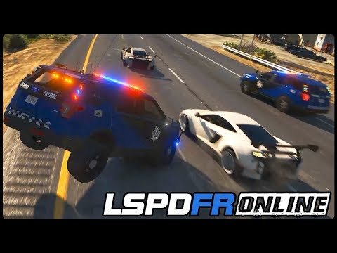 LSPDFR ONLINE #004   Highway Verfolgung - Deutsch - Grand Theft Auto 5 LSPDFR GTA 5