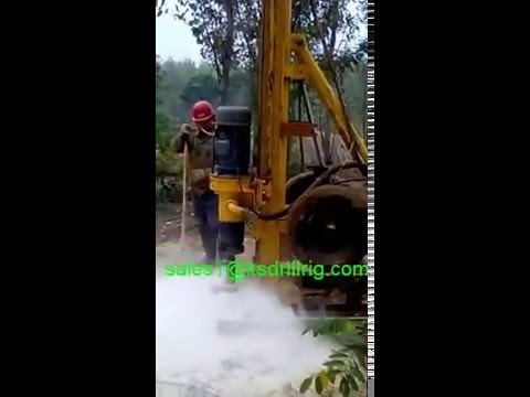 KWD20S water well drilling rig