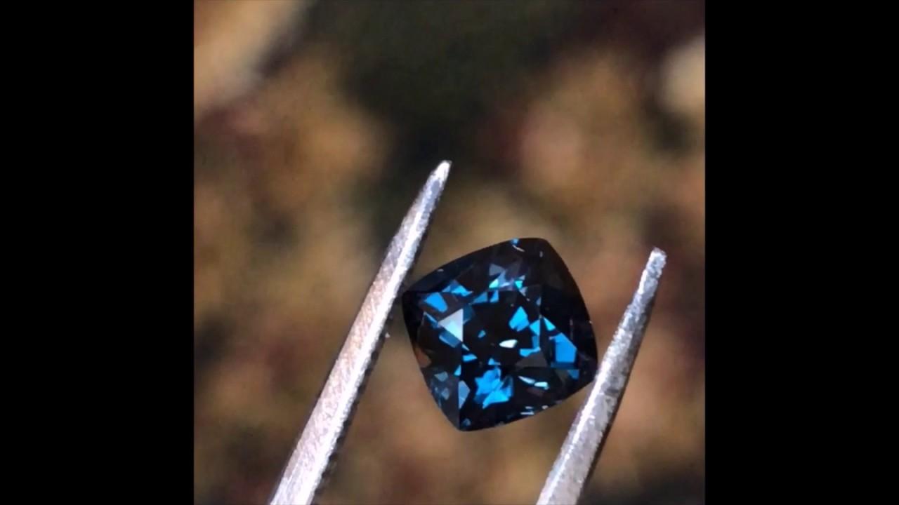 Blue Garnet Color Changing Gemstone YouTube