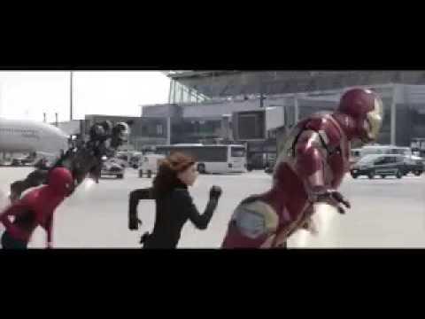 The Civil War Airport Scene but it's set to Jellyfish Jam