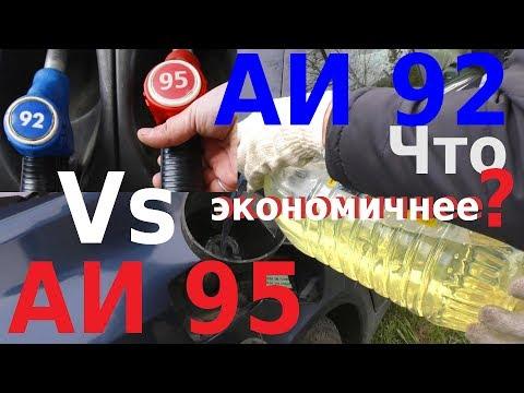 ЧТО ЭКОНОМИЧНЕЕ АИ 92 или АИ 95? Реальный Дорожный Тест