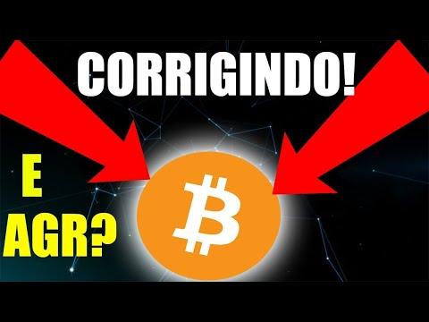 ACABOU A CORREÇÃO DO BITCOIN? O QUE FAZER? Analise Tecnica Bitcoin