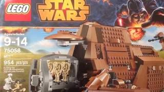 Lego Star Wars - 75058 MTT Review (обзор)