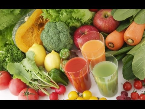 Vegetable juice to build muscle and fat loss