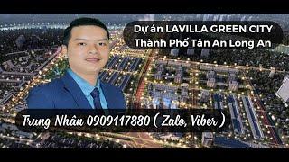 NTN    Lavilla Green City dự án Nhà Phố Tân An Long An hợp tác Trần Anh Group và Đồng Tâm Group