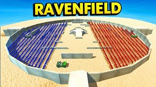 MELEE ONLY CHALLENGE IN RAVENFIELD ARENA (Ravenfield Funny Gameplay)