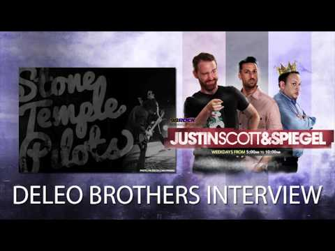 Justin Scott & Spiegel Interview: Stone Temple Pilots' Deleo Brothers