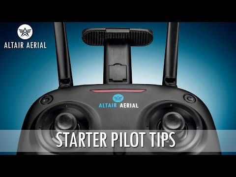 How to Fly - Starter Tips for Altair AA108