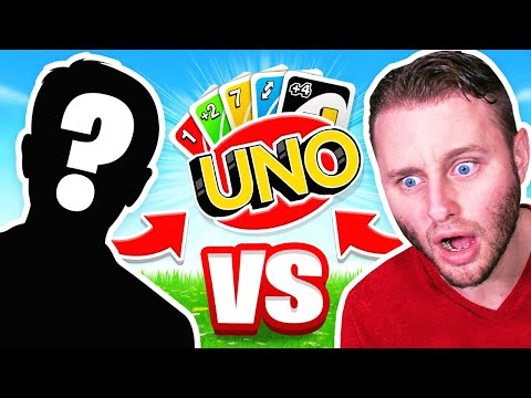 Playing UNO With the Boys! (Uno Card game)