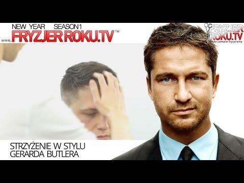 Strzyżenie w stylu Gerarda Butlera. Gerard Butler haircut FryzjerRoku.TV