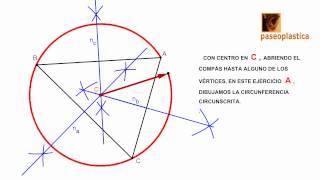 Circuncentro y circunferencia circunscrita