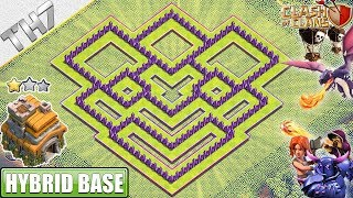NEW TH7 Base 2019 with REPLAY!! Town Hall 7 Hybrid Base - Clash of Clans