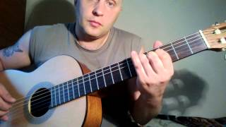 Как играть на гитаре.Виктор Цой - Дерево