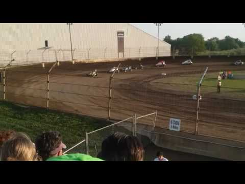 Sprint Car Heat 1 Part 2  Kokomo Speedway