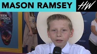 Mason Ramsey, Yodeling Kid, Feels Like Justin Bieber! | Hollywire