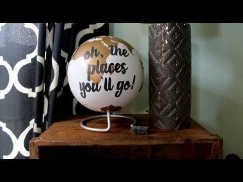 Seuss Quote Globe