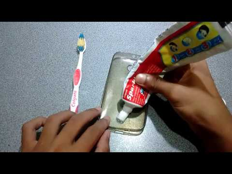 Transparent cover cleaning    back cover cleaning tips    how to clean back cover with colgate