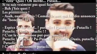Paroles LA CHANSON PUTACLIC - Amixem ft. Youtunes