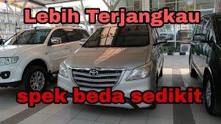 Review Mobil Bekas, Toyota kijang innova e manual th 2014