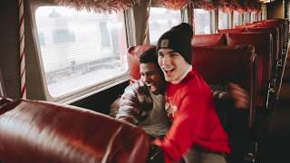 Christmas time on The Polar Express