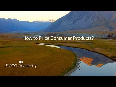 How to Price Consumer Goods (FMCG)?