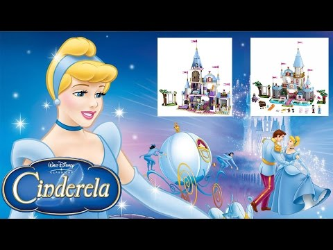 Unboxing and Building Disney Princess Cinderella's Romantic Castle 41055 Lego