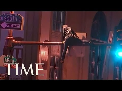 Mayhem In Philadelphia After Eagles Super Bowl 2018 Win Over Patriots | TIME