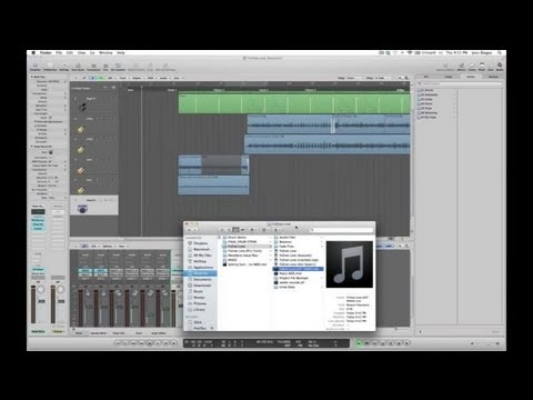 How to Load a MIDI File Into a Synthesizer With a Mac : Audio Digital Media