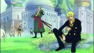 One Piece Zorro und Sanji reden für Dumme xD