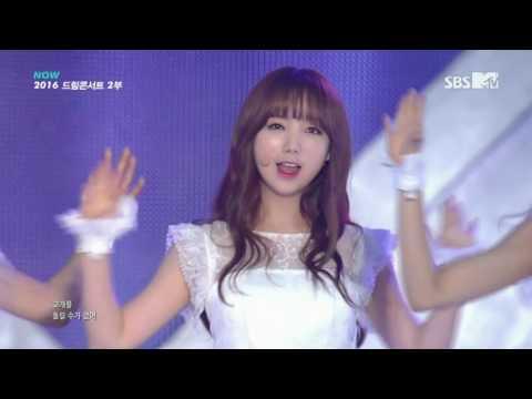 160612 Lovelyz (러블리즈) - Destiny (나의 지구) @ Dream Concert 160604