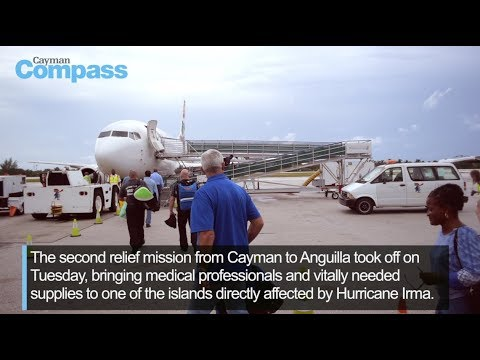 Cayman sends second relief flight to aid Anguilla