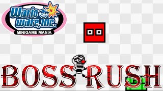 WarioWare, Inc.: Mega Microgame$! - Boss Rush (All Boss Microgames)