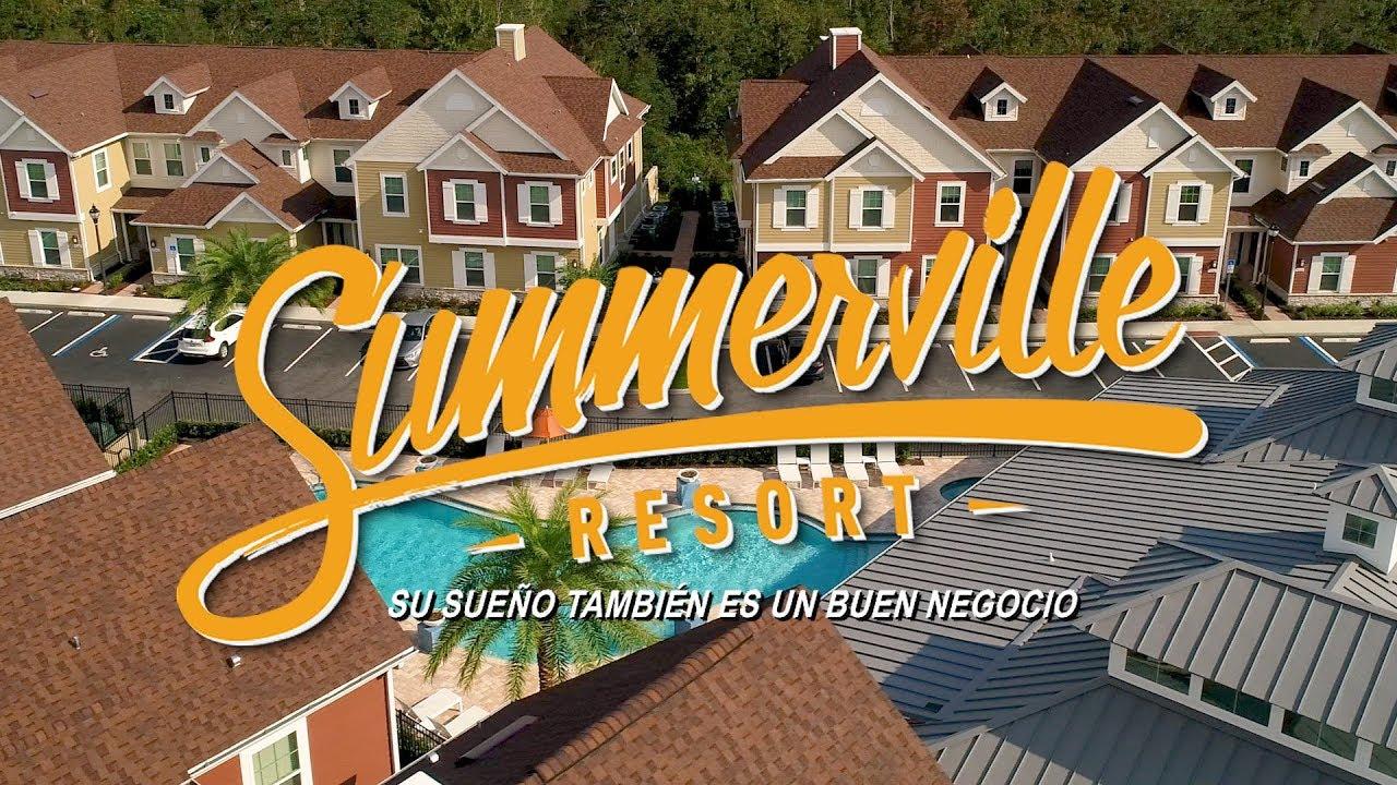 [ESPAÑOL] Summerville Resort – Su nueva oportunidad de inversión en Orlando, Florida!