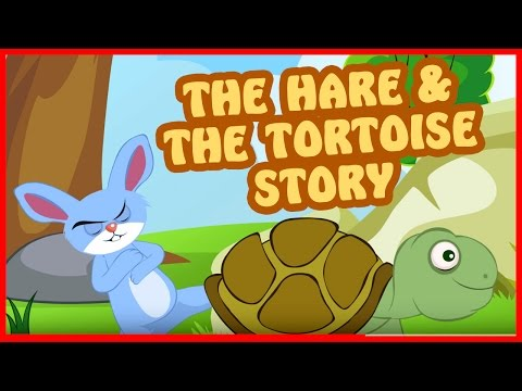 Hare and Tortoise Story in English | Bedtime Story for Kids