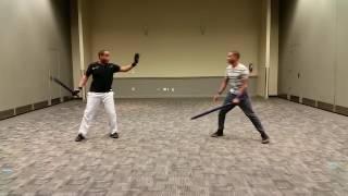 Semi-Epic Enclosed Sword Fiġht – Gaelic vs Chaos