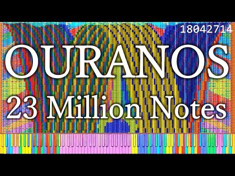 [Black MIDI] Ouranos - 24.3 MILLION NOTES - A Collaboration with The Romanticist - 5000 Subscribers from YouTube · Duration:  4 minutes 41 seconds