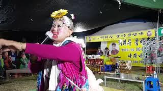 활기찬 공연 으로관객들을 사로잡는할매 품바 영천한약축제…