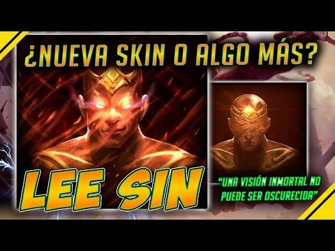 LEE SIN ¿Nueva SKIN LEGENDARIA? - Teaser | Noticias League Of Legends LOL