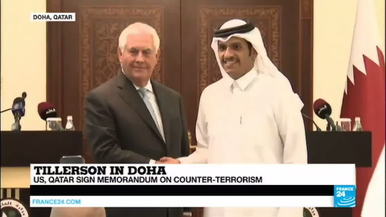Tillerson In Doha Trump Wants To Rid Earth Of Terrorism