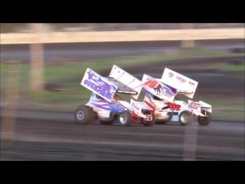 Arlington Raceway sprint cars 5-17-14