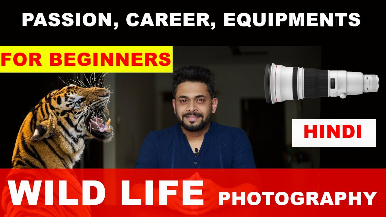 WILD LIFE PHOTOGRAPHY IN INDIA   CAREER AND PASSION   WILD LIFE PHOTOGRAPHY GEAR   HINDI