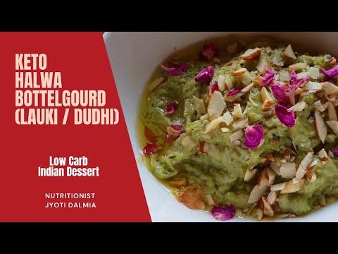 Keto Bottelgourd Halwa (Lauki / Dudhi) Indian Dessert
