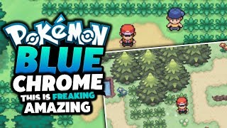 Pokemon Blue Chrome - Pokemon Fan Game Review/Showcase (THIS IS THE BEST EVER!?)