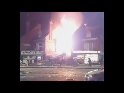 Explosão em Leicester