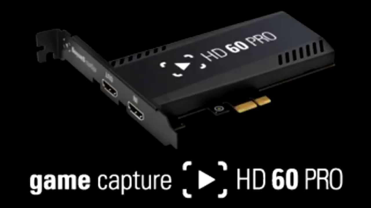 Elgato Game Capture HD60 Pro Card 64 BIT Driver