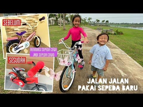Keliling Naik Sepeda dari Playground ke Playground   Renovasi Sepeda Zara Cute ke Little Kenzo